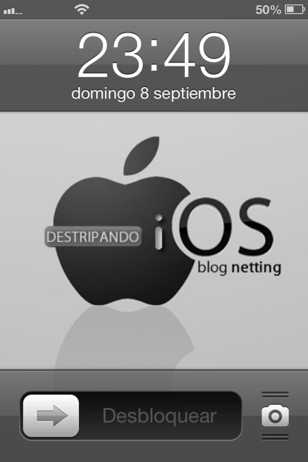 Bloqueo iOS 6.1