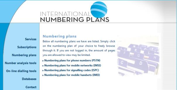 numberingplans 1